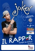 Il Rapper  Joker alla GMG and Friends per il Papa