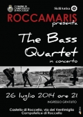 "La musica dei ""The Bass Quartet"" in scena al Castello di Roccella"