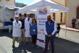 Ambulatorio vaccinale itinerante in piazza a Casteldaccia
