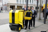 Arriva in Germania il postino-robot